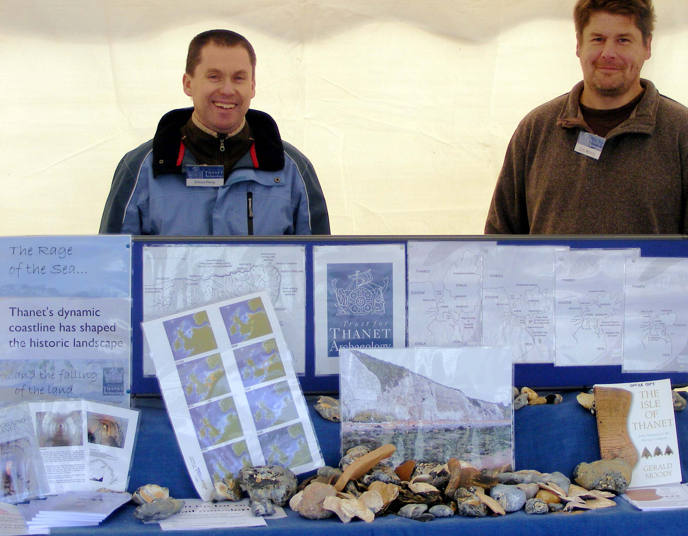 Picture of our stall at Historic Coast Ramsgate