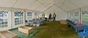 Our Dig and Discover area at Dig for Three Days