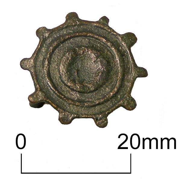 Roman disc brooch from Minster in Thanet